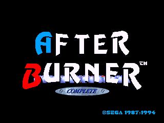 After Burner Complete