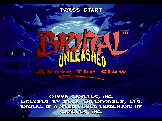 Brutal Unleashed - Above the Claw