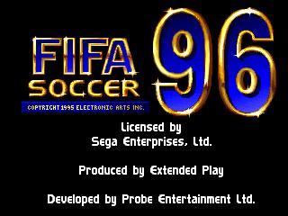 FIFA International Soccer 96