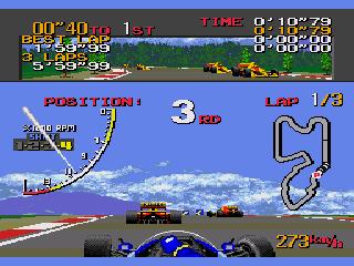 Sennas Super Monaco GP 2 mega drive