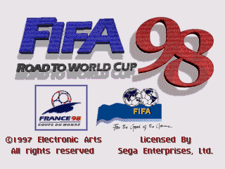 FIFA Soccer 98 - Road to the World Cup