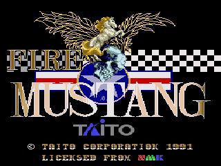 Fire Mustang