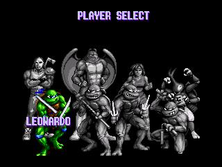 Teenage Mutant Ninja Turtles - Tournament Fighters