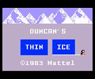 Duncan's Thin Ice
