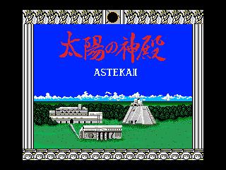 Taiyouno Sinden - Astekai