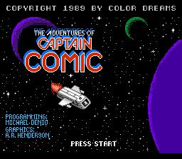 Adventures of Captain Comic, The