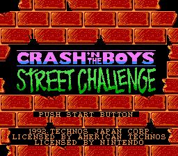 Crash 'n the Boys - Street Challenge