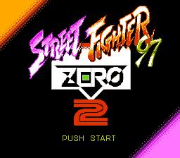 Street Fighter Zero 2