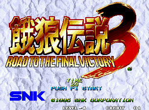 Fatal Fury 3 - Road to the Final Victory