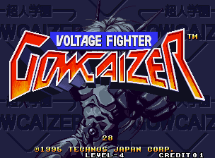 Voltage Fighter - Gowcaizer