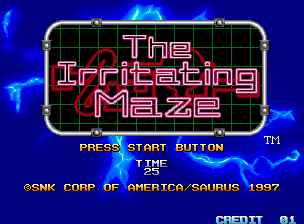 The Irritating Maze