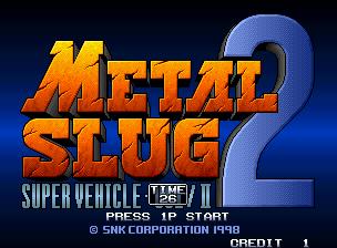 Metal Slug 2 - Super Vehicle-001/II