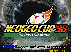 Neo-Geo Cup '98 - The Road to the Victory