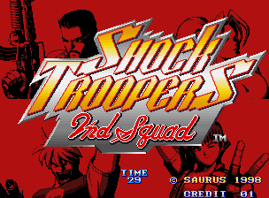 Shock Troopers - 2nd Squad