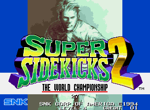 Super Sidekicks 2 - The World Championship