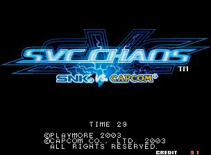 SNK vs. CAPCOM SVC CHAOS