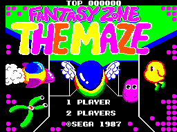 Fantasy Zone - The Maze