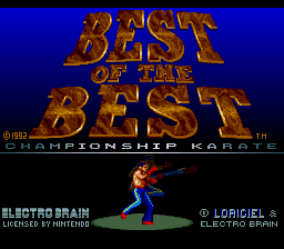 Best of the Best - Championship Karate