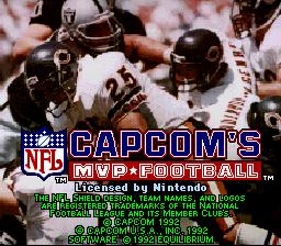 Capcom's MVP Football