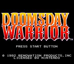 Doomsday Warrior