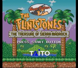 Flintstones, The - The Treasure of Sierra Madrock