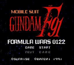 Mobile Suit Gundam F91 - Formula Wars 0122