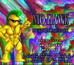 MoHawk & Headphone Jack