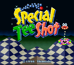 Special Tee Shot
