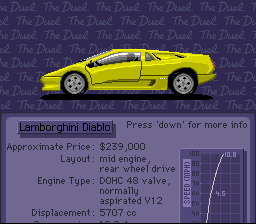 Test Drive II - The Duel