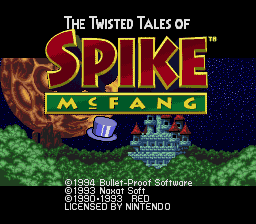 Twisted Tales of Spike McFang, The