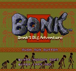 Bonk III - Bonk's Big Adventure